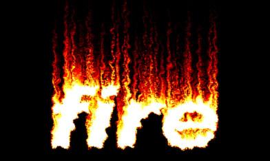 Տեքստային ազդեցություններ (էֆֆեկտներ): Դաս 1. Գրել կրակով: