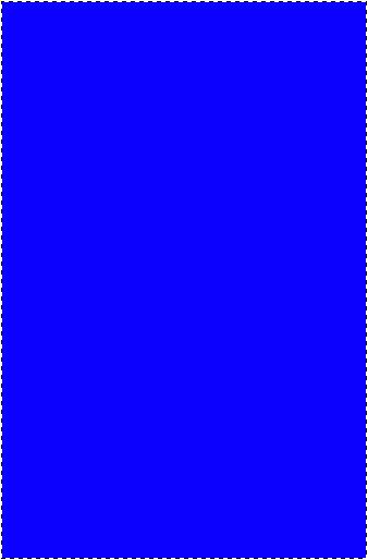 Создать выделение чуть меньше фона. Залить любой краской: