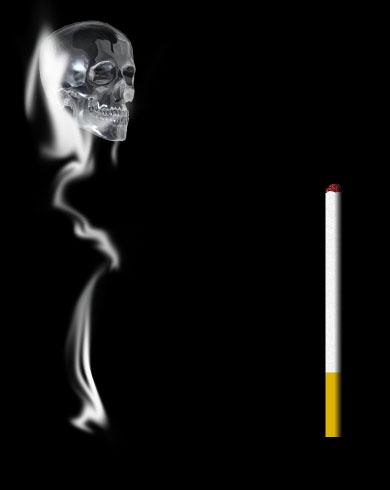 Придадим ему дымообразный вид: Filter-Stylize-Glowing Edges (Светящиеся края).